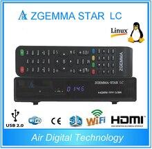 5 unids/lote 2016 nueva Zgemma estrella LC HD sintonizador DVB-C Linux Enigma 2 receptor de satélite Digital