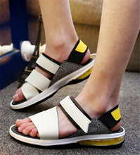 Cushion summer sandals tide male Korean men's casual slip New Roman Beach