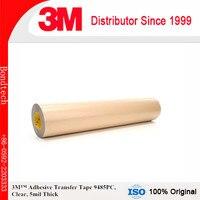 3 м клей передачи Клейкие ленты 9485 шт. прозрачный, 5 млн, 12x60 м 5 мил (1 упаковка)