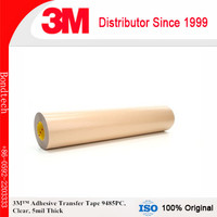 3M Adhesive Transfer Tape 9485PC Clear, 5 mil, 12 in x 60 yd 5 mil (Pack of 1)