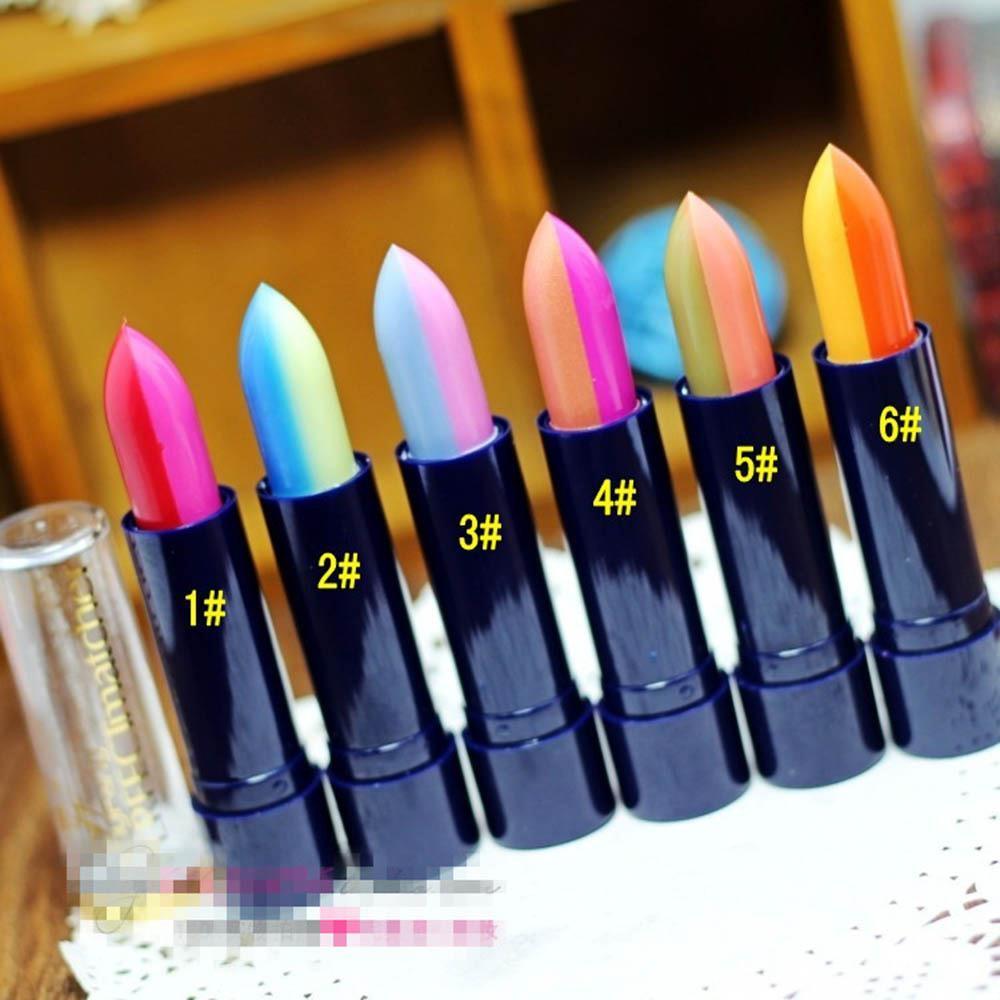 Vogue Pop Beauty Changing Two Colors Lipstick font b Lip b font Gloss font b Lip