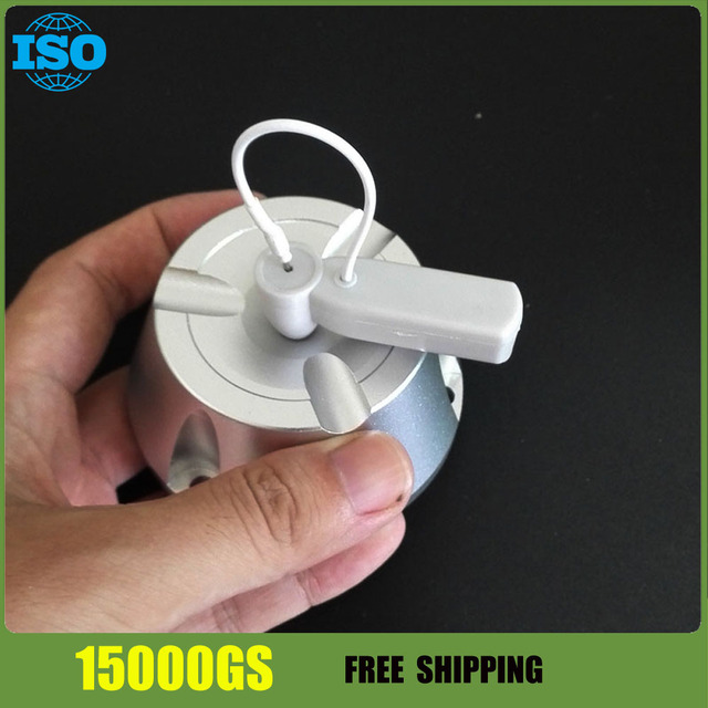 15000GS magnetic Clothes security Tag Manual Pin Opener / Detacher - Silver 1pcs free shipping