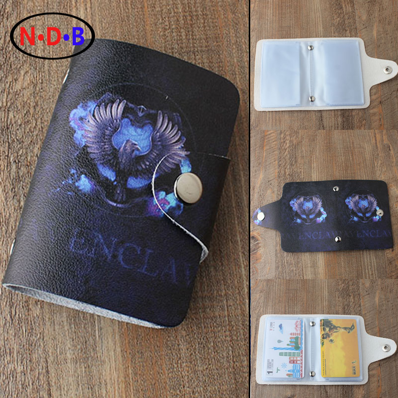 (Card & ID Holders)New pattern Card package Potter Harry Magic Academy Ravenclaw Pattern card bag XKB1090