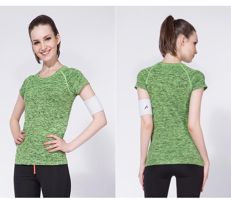 Մարմնամարզիկ O- պարանոցի շապիկով - Սպորտային հագուստ և աքսեսուարներ