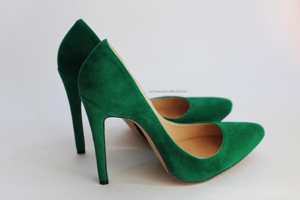 Зеленые Туфли Замшевые Фото cd91f993255