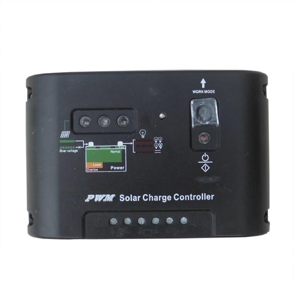 sistema de carga da bateria Do Painel Solar Preto
