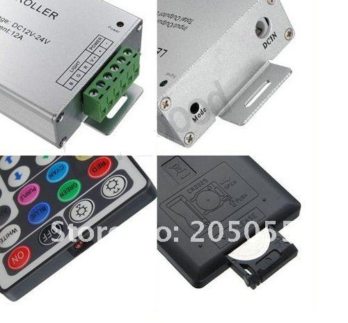 12 V-24 V 28 Ключи RF контроллер для RGB 5050 SMD светодиодный свет полосы DIY светодиодный светодиодные полосы света
