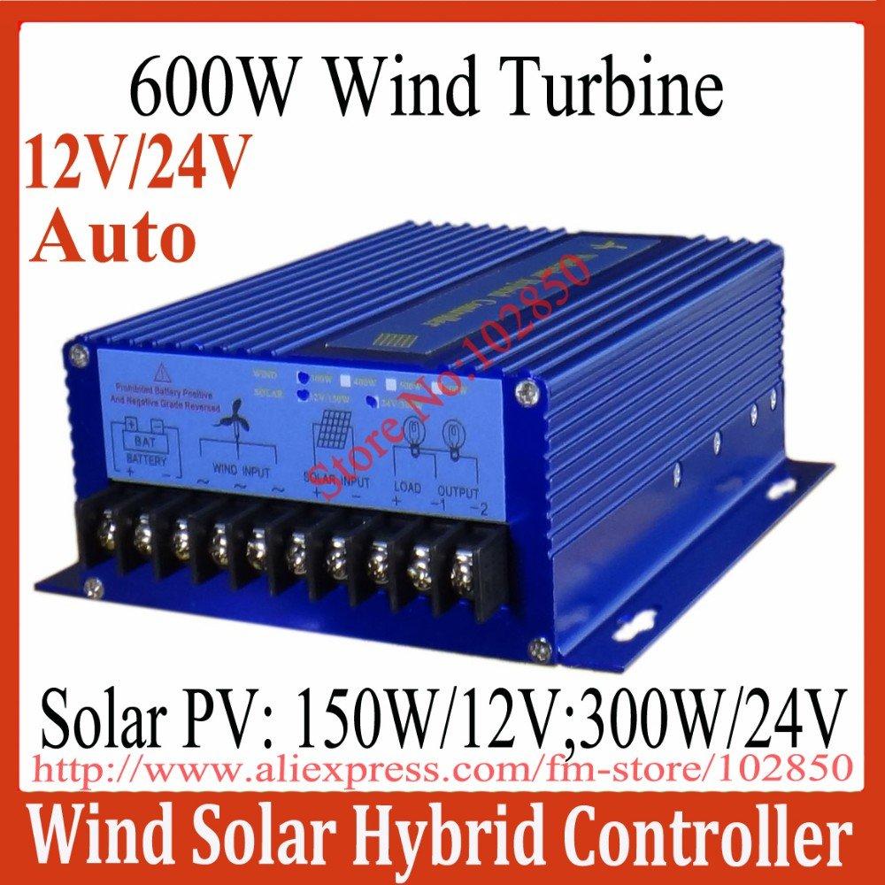 900w Hybrid System Charge Controller 600w Wind Turbine 300w Solar Generator 3 Phase Wiring Diagram 12 24v Auto Distinguish 900w600w Panel Controllerhybrid Street Lamp