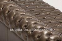 роскошные антикварная мебель для гостиной честерфилд кожаный диван