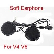 1 pc Fodsports Brand Soft Earphone Stereo Suit for V6 V4 Motorcycle Bluetooth Helmet Intercom