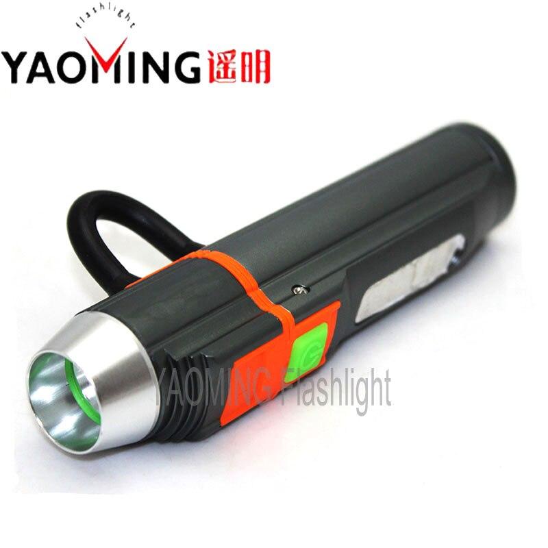 USB Мощность Bank CREE Q5 2300lm фонарь светодиодный фонарик аккумуляторная лампа факел linternas Мощность ful 18650 батареи фонарик светодиодный