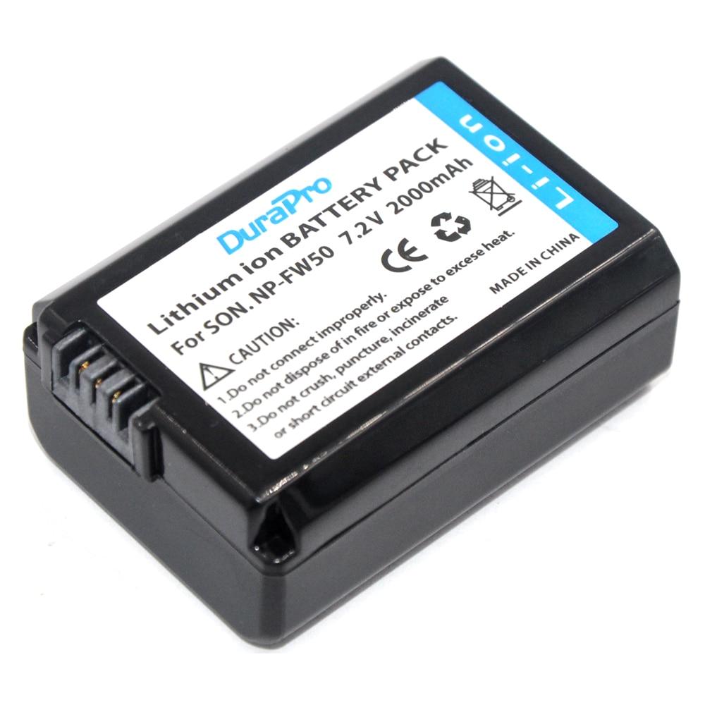 NP-FW50 NP FW50 NPFW50 Baterías para cámara para Sony A6500 A5100 A7R NEX 6 7 5TL 5R 5N 3Nl A6000 5 t 5C 3N A7 NEX6 NEX7 NEX5TL NEX5R