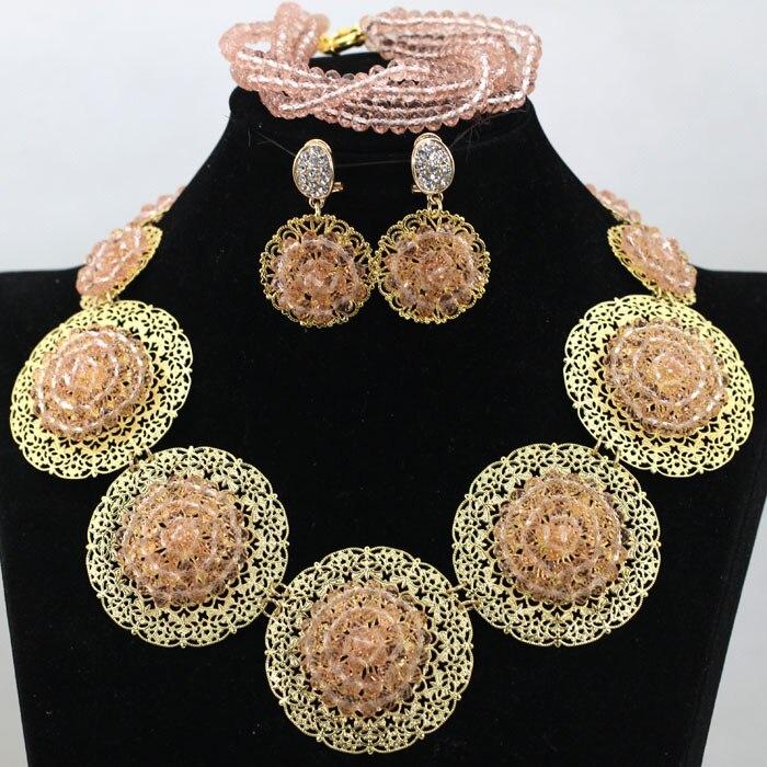 Fashion Jewelry 925 Sterling Argent Perles Femmes Collier Boucles d/'oreilles Set GS363