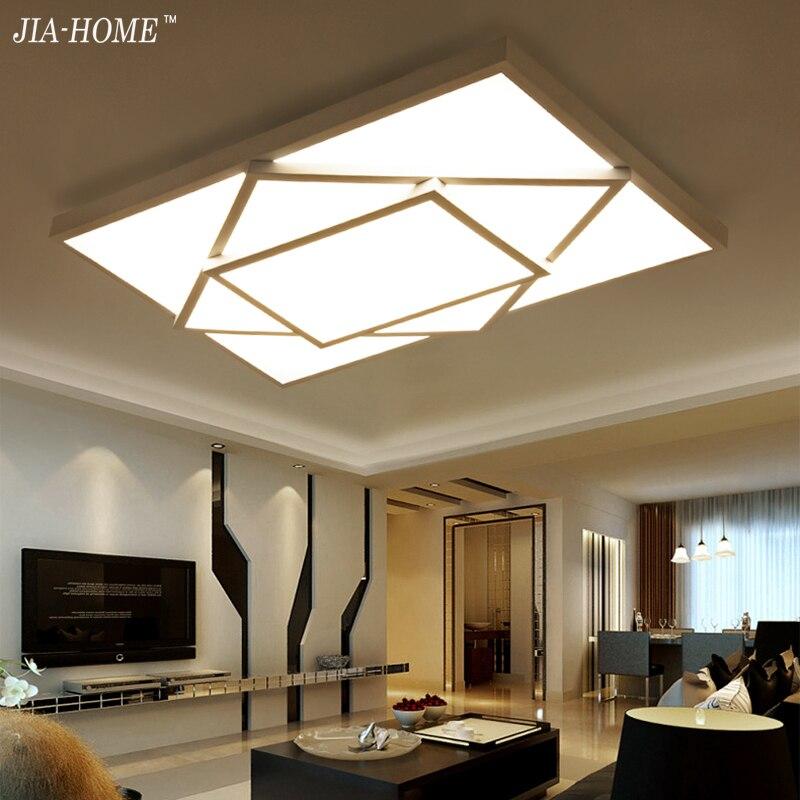 Здесь можно купить  Surface mounted LED ceiling lights  for bedroom living room brightness dimmer black white iron body Mordern home indoor lamp  Свет и освещение