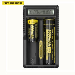New Arrival Nitecore UM20 Smart Battery Charger LCD Display Battery Charger Universal Nitecore Charger With USBCable
