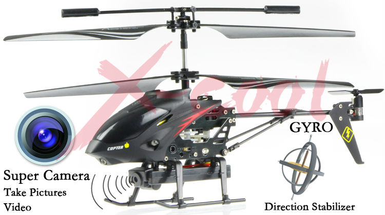 S977 3.5 CH Radio remote Control Metal Gyro rc Helicopter With ...