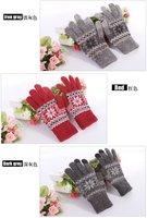 бесплатная доставка зима теплая вязаная колики шерсть белого датчик экран перчатки, 20 шт