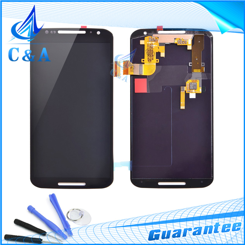 For Motorola for Moto X+1 X2 LCD Display Screen with Touch Digitizer Assembly XT1097 XT1092 XT1095 XT1096 Free DHL EMS 10 pcs 2016 sale rushed 10pcs free dhl ems for motorola moto xt1254 touch digitizer lcd display 100