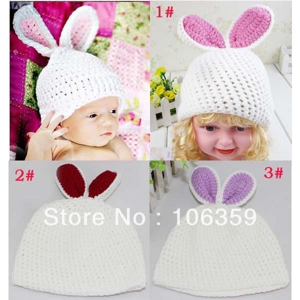 Niños gorros Animal diseño del bebé del ganchillo sombrero hecho ...