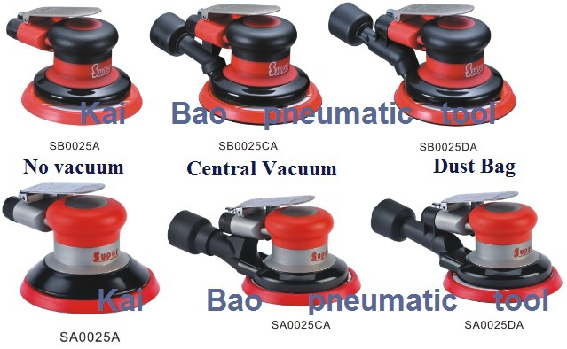 UT8esGBXg8XXXagOFbX5 - 6inch Central Vacuum pneumatic grinding polishing machine Waterproof Finishing Tools 150mm Pad Dust Free (SA0026CA)