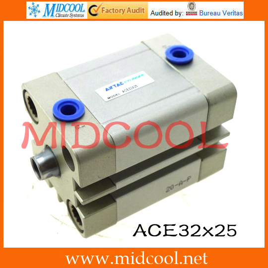 Original AirTAC Compact cylinder ACE Series ACE32x25