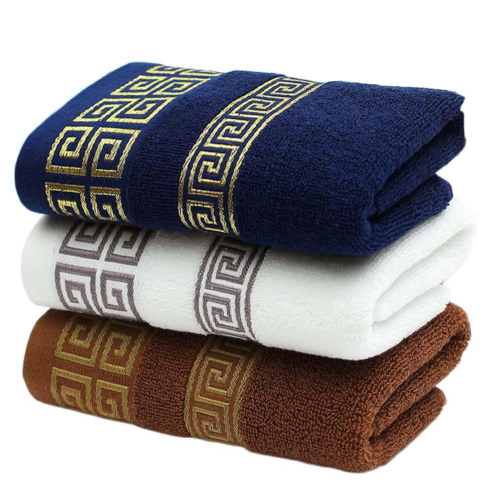 35 75cm decorative cotton terry hand towels elegant - Decorative hand towels for bathroom ...