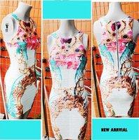 бесплатная доставка мода личности волна ткань поло-образным вырезом жилет платье. платье нарядное. мини платье tb1673