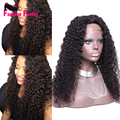 Kinky Curly Lace Wigs Virgin Brazilian Full Lace Human Hair Wig Glueless Curly Full Lace Wigs 180Density For Black Women