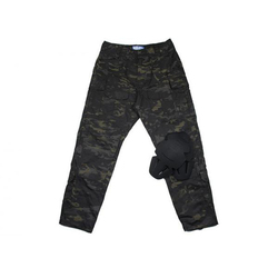 MCBK  3G Ripstop combat pants with knee protection / Tactical Army Ripstop Pants Multicam Black