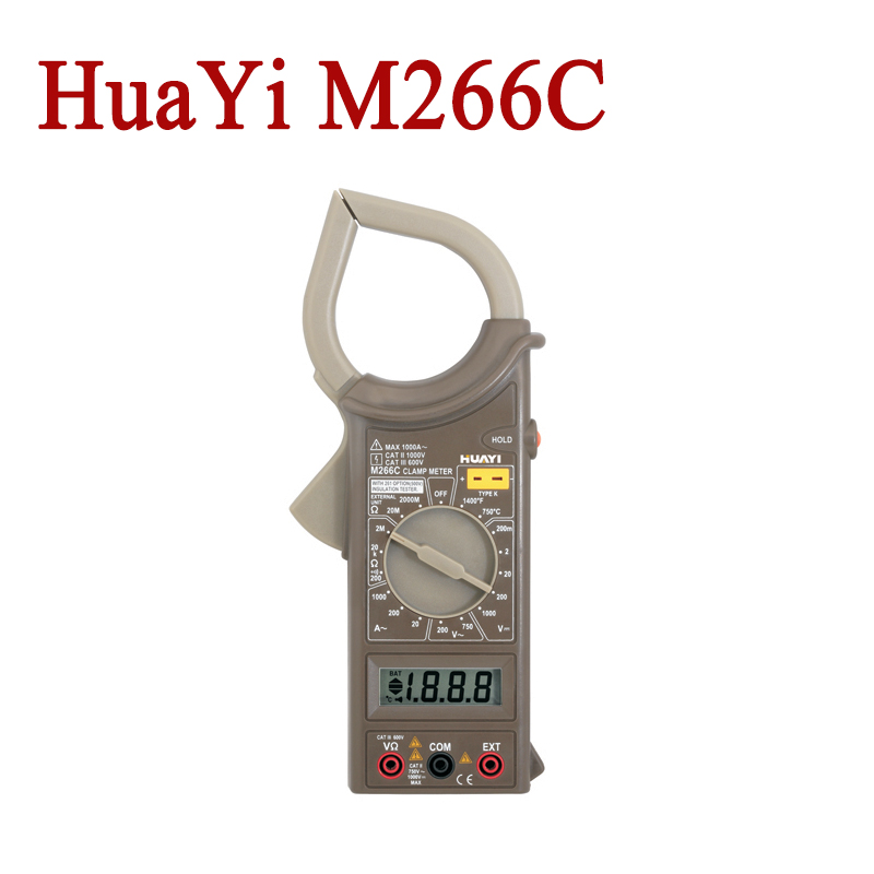 HuaYi M266C 2000Counts Digital Current Clamp Meter Insulation Tester Continuity Check And Data Hold от Aliexpress INT