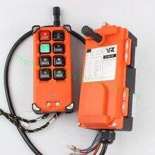 AC 220V 110V 380V 36V DC 12V 24V 36V 48V Industrial remote controller Hoist Crane Control Lift Crane 1 transmitter + 1 receiver
