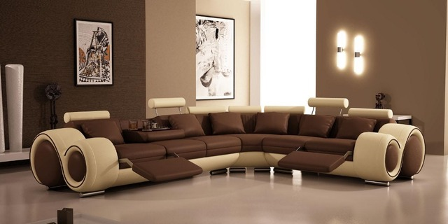 modern comfortable leather sofa 0414 8802 in living room sofas from