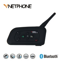 1200 Meter Talking Ranger Motorcycle Bluetooth Intercom Full Duplex Communication For 4 Riders At Same Time