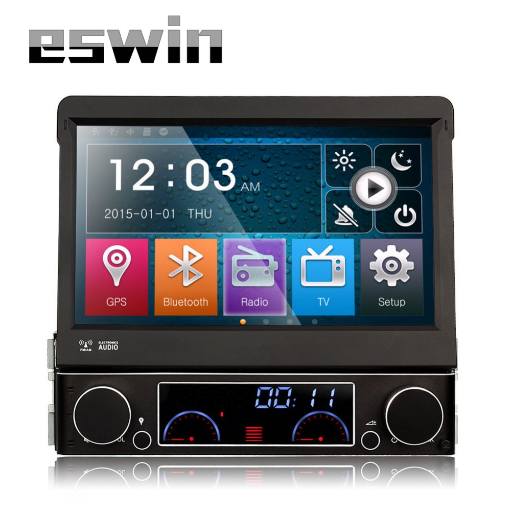1 Din Autoradio Bluetooth Car Radio Automotivo DVD Player GPS System Touch Screen 7 Inch Support