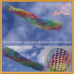 480 cm Fisch korb Windsack Linie Wäsche von Weifang kaixuan kite fabrik