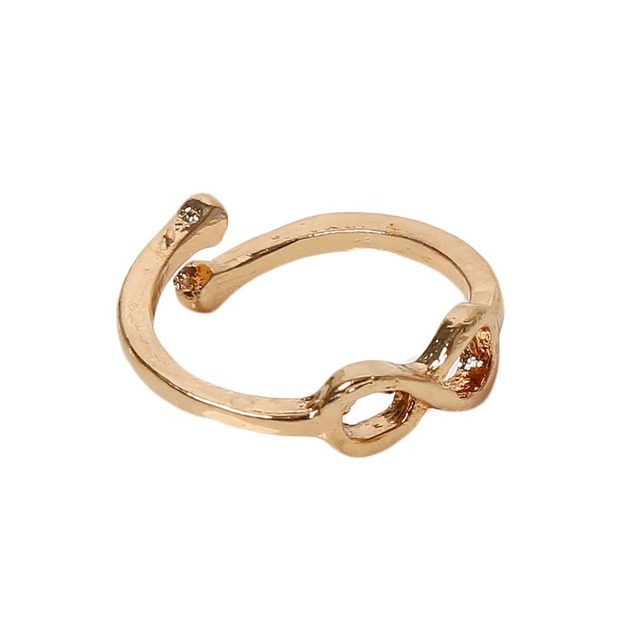 Aliexpress Buy Fashion Number 8 Infinity Symbol Foot Ring
