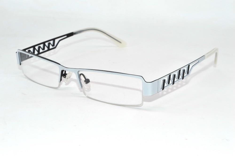 purple multi layer plating lady temperament metal optical rim frame custom made prescription myopia glasses