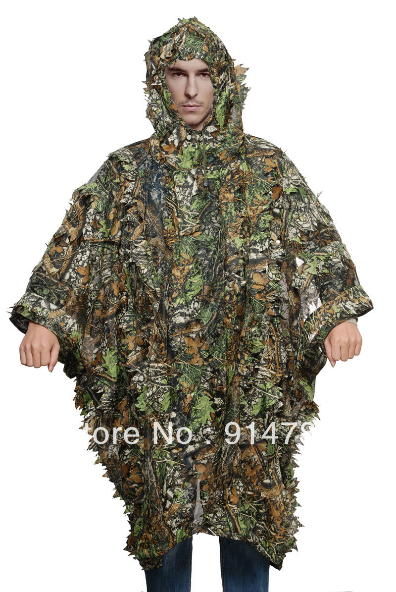 Costumes & Accessories 32852 High Quality And Inexpensive Tactical Military 3d Camouflage Net Cloak