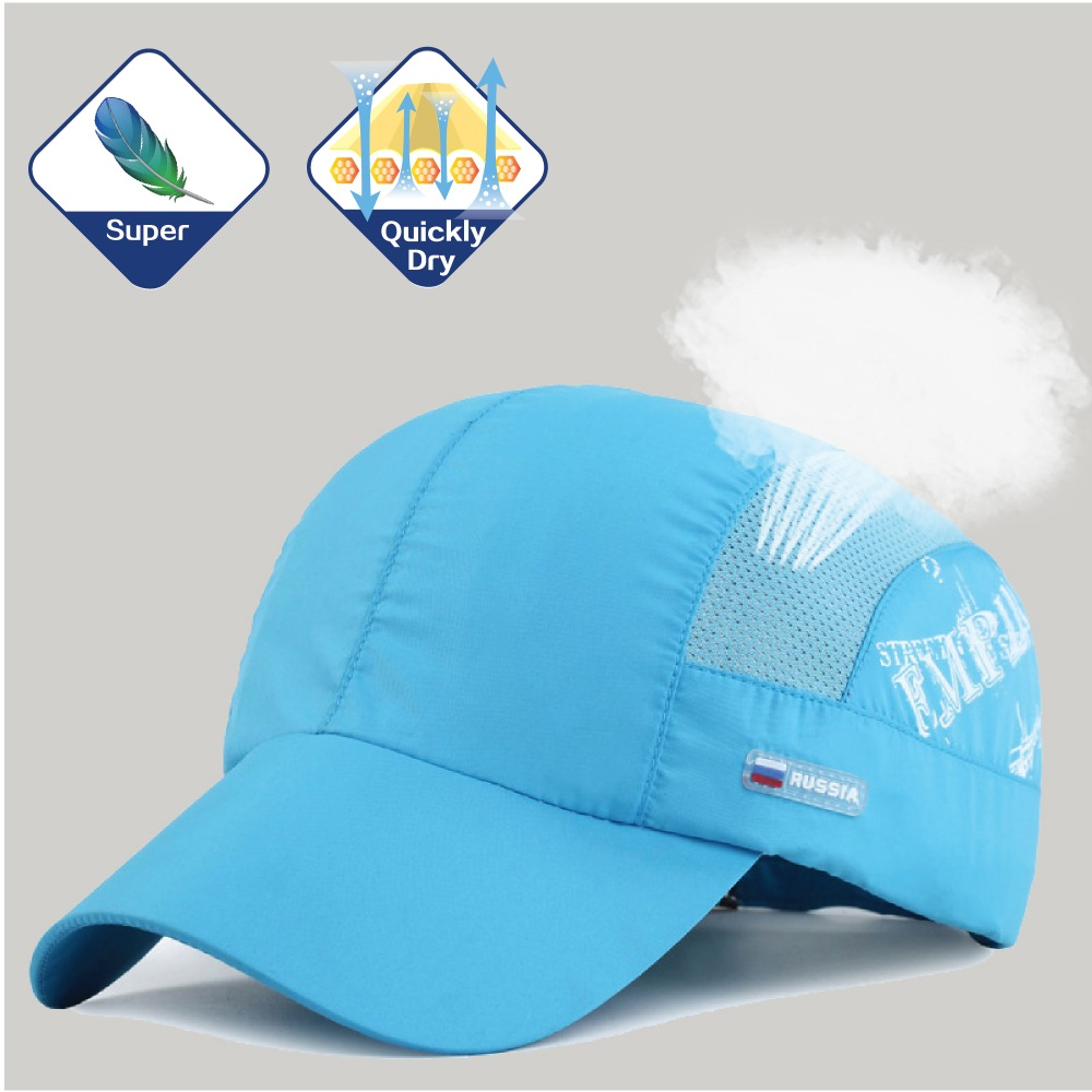 Russia flag Outdoor sports mesh cap hat Super Thin Light quick-dry breathable for running Climbing Hiking Men Women Bone gorras sports law in russia monograph
