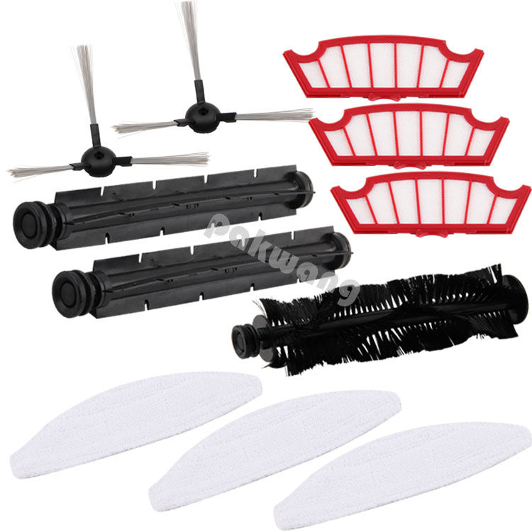 Original XR210 Robot Vacuum Cleaner Accessories, Including XR210 Hair Brush, Rubber Brush, Side Brush,  Filter and  Mop optimal and efficient motion planning of redundant robot manipulators
