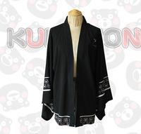 Kumamoto Bear Gintama FFF Group Naruto Breeze Bathrobe Pajamas Cloak Chiffon T Shirt Jacket Cos Animation