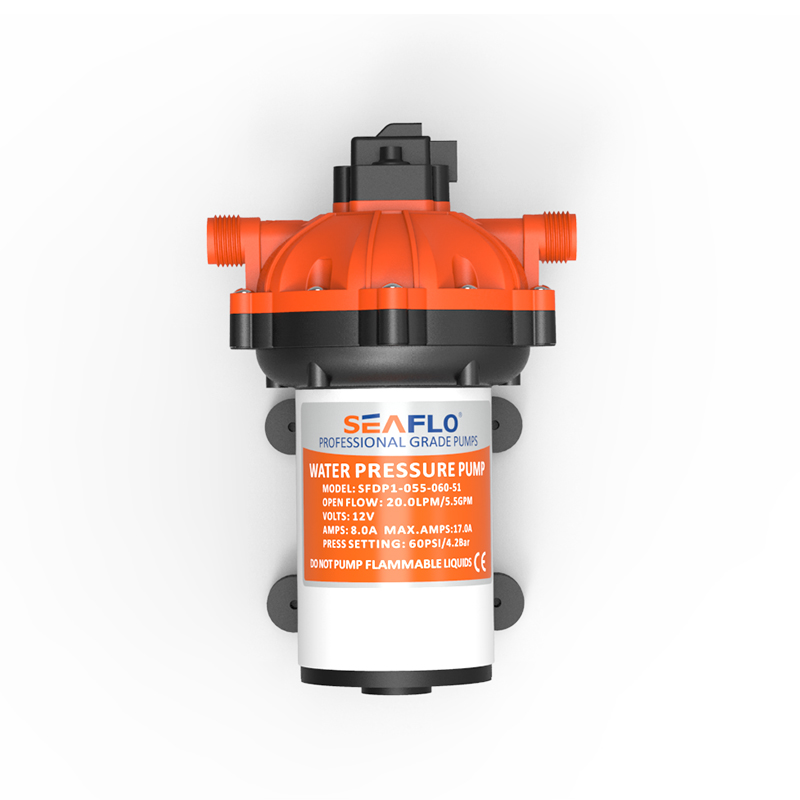 US $109 99 |SEAFLO Diaphragm Pump 12V 5 5GPM 20 LPM 60PSI Submersible Water  Pressure Pump for Marine Boat-in Marine Pump from Automobiles &