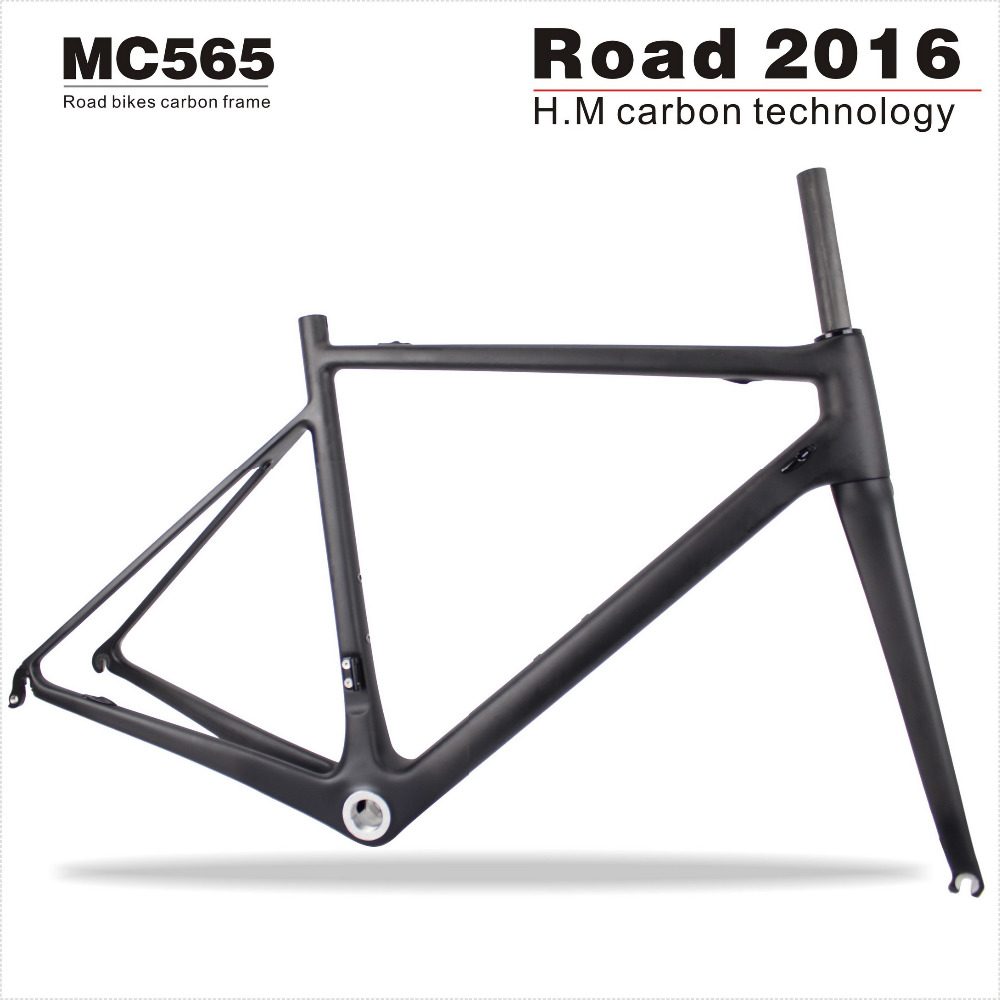 Factory Price Full Carbon Road Frame China,Road Bike Carbon Frame Fork Seatpost Clamp UD Matte