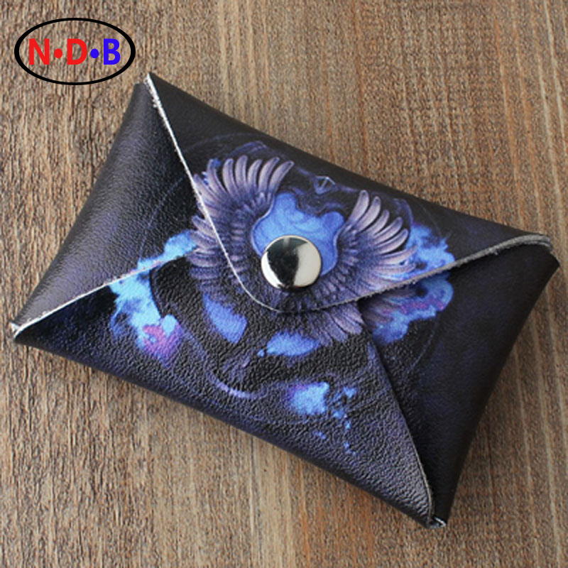 (Coin Purses) ashion Trend coin purse Potter Harry Ravenclaw Zero purse short cover type card package LQB1084