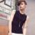 Homens casuais de verão tanque top preto slim fit 2017 nova chegada polka dot colete camisa sem mangas dos homens musculação clothing m-xxl