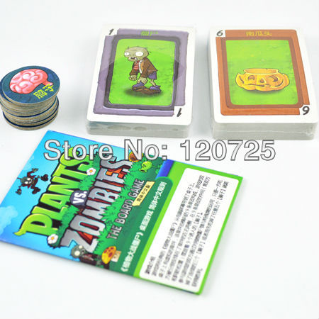 PLANTS VS ZOMBIES PLAYING CARDS Action- & Spielfiguren