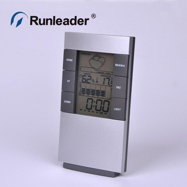 Новый Дом Термометр ЖК-Цифровой Гигрометр Влажность Измеритель Температуры Часы