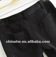 zc02015 Fantastic Clash хлопок дамы свободного покроя прямые брюки