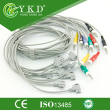Compatible for HP Trim series 10 lead wires, IEC,Banana 4.0 end