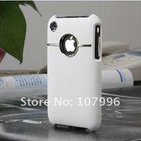 чехол, lucuxy хром пластик жёсткая задняя часть чехол для для iPhone 3 3 г 3GS с мобильный телефон чехол кожи раковина аксессуары